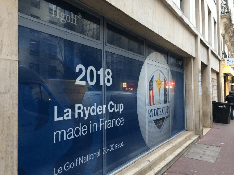 Adhesivos para Ventanas Ryder Cup 2018