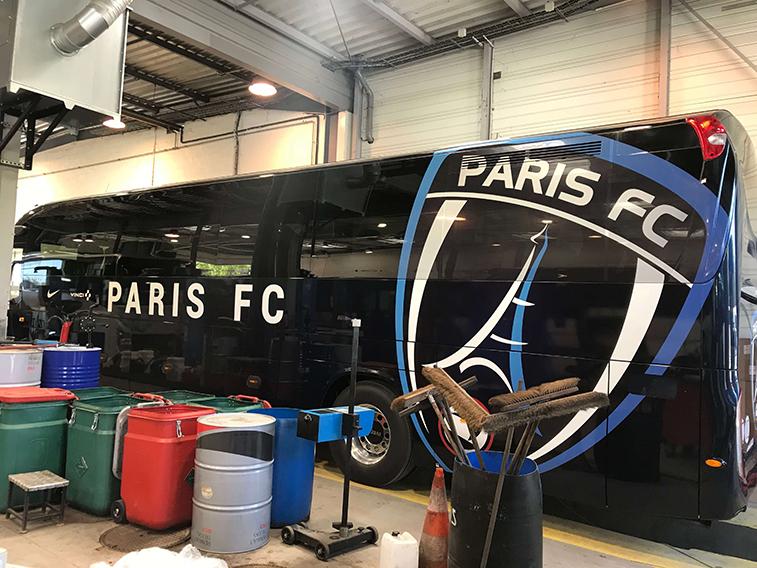 Revestimiento de Coches PARIS FC