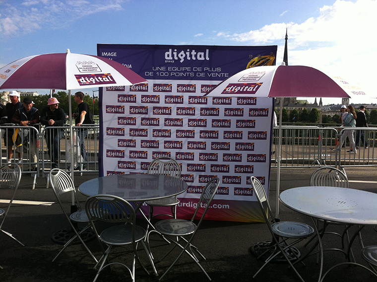 Stand Pop Up con Velcro Digital Group