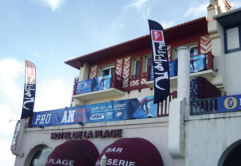 Champion Banner Quiksilver Pro France 2007