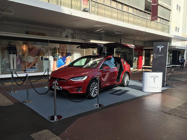 small carpet Tesla