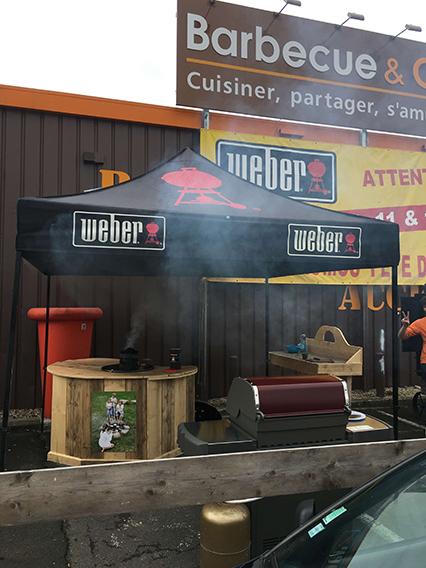 tenda-dobravel Weber