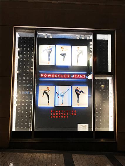 vitrine jeans powerflex